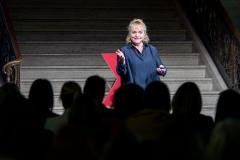 Me at TEDx Stormont, Belfast, 12 December