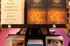 Good company in a Brussel book store.