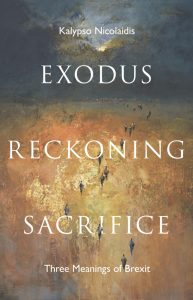 Book webpage – Exodus, Reckoning, Sacrifice: Three Meanings