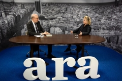 Interview with ARA in Barcelona